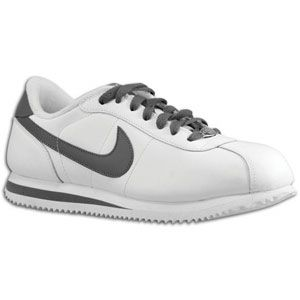 Nike Cortez   Mens   Running   Shoes   White/Dark Grey