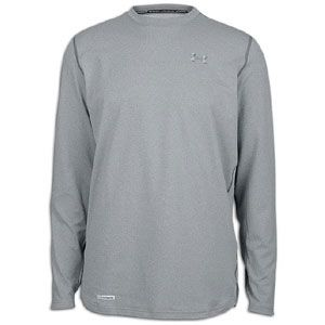Under Armour ColdGear Fitted L/S Crew   Mens   Training   Clothing