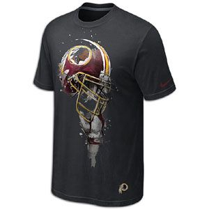 Nike NFL Tri Blend Helmet T Shirt   Mens   Washington Redskins