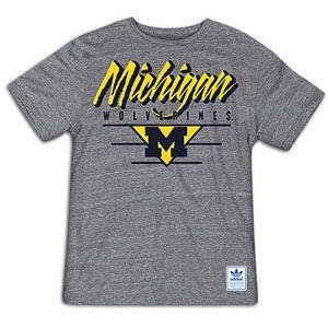 adidas Trefoil T Shirt   Mens   For All Sports   Fan Gear   Michigan