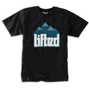 LRG Lifted Hard Rocks T Shirt   Mens   Skate   Clothing   Black