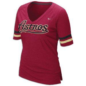 Nike MLB Fan T Shirt   Womens   Baseball   Fan Gear   Astros