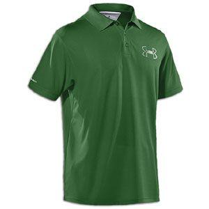 Under Armour Coldblack Outline Logo Golf Polo   Mens   Classic Green