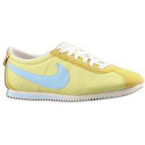 Nike Lady Cortez Nylon   Womens   Running   Shoes   Yellow Diamond
