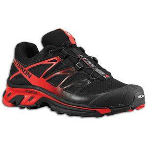 Salomon XT Wings 3   Mens   Running   Shoes   Black/Bright Red