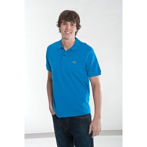 Lacoste S/S Classic Pique Polo   Mens   Casual   Clothing   Ink Blue