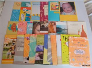 Hallmark Greeting Card Lot of 25 Warious Occasions New with Envelopes