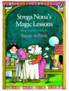 Strega Nonas Magic Lessons Tomie dePaola kids story picture book funny