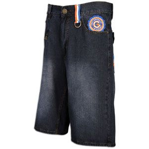 Coogi Love Life Denim Short   Mens   Casual   Clothing   Dark Blue