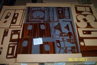 Hummer H2 Wood Dash Kit