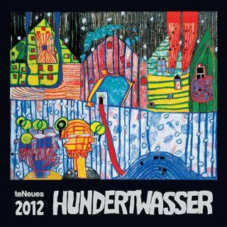 Hundertwasser Art 2012 Wall Calendar