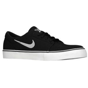 Nike Satire   Mens   Skate   Shoes   Black/Black/Black/Metallic