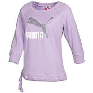 The PUMA ME LL Logo Cover Up is a trendy style with a sporty feel