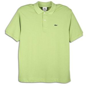 Lacoste Classic Pique Polo   Mens   Casual   Clothing   Willow Green