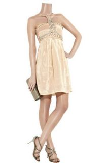 Paul & Joe Sister Christal beaded satin weave dress   50% Off