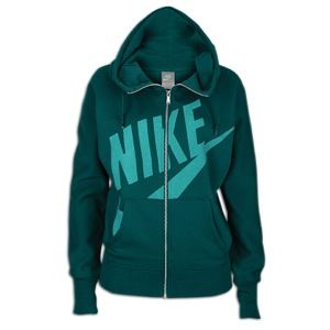 Nike Light Weight Full Zip Hoodie   Womens   Casual   Clothing   Dark