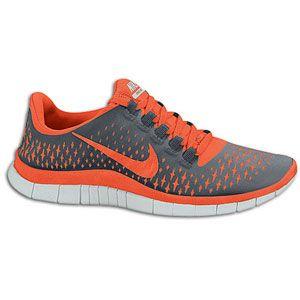 Nike Free Run 3.0 V4   Womens   Running   Shoes   Cool Grey/Bright