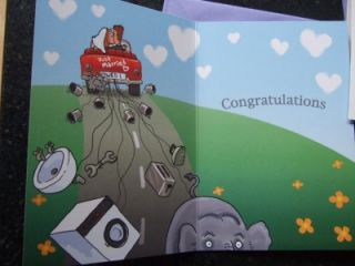 Funny Humourous Wedding Day Cards Choice of Designs
