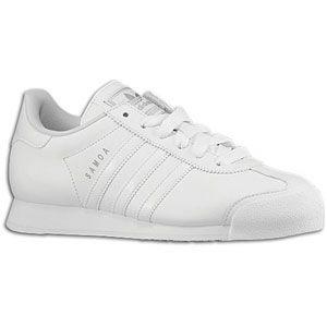 adidas Originals Samoa   Womens   Soccer   Shoes   White/White/Silver