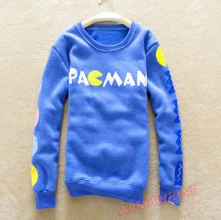 Korean Girls Cute Thickening Sweatshirt Pullover Sweater Cartoon Coat