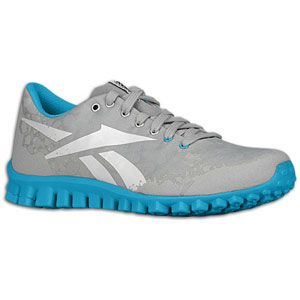 Reebok RealFlex Cool   Womens   Running   Shoes   Silver/Grey/White