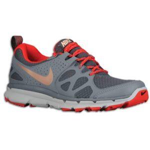 Nike Flex Trail   Womens   Dark Grey/Cool Grey/Wolf Grey/Metallic Red