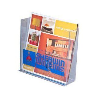 Brochure Holder for up to 7.5 Wide Literature, Clear