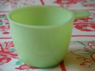 Vintage Jade ITE 1 Cup Measure Jeanette Glass