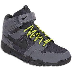 Nike Mogan Mid 2 OMS   Mens   Skate   Shoes   Dark Grey/Black/Atomic