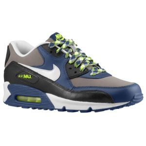 Nike Air Max 90   Mens   Running   Shoes   Sport Grey/White/Black
