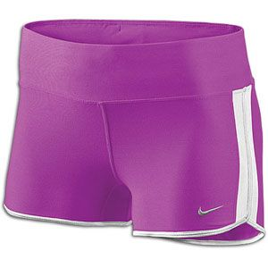 Nike 2 Boy Short   Womens   Running   Clothing   Magenta/White/Matte