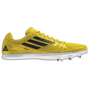 adidas adiZero Avanti   Mens   Track & Field   Shoes   Vivid Yellow