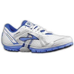 Brooks PureCadence   Mens   Running   Shoes   White/Deep Royal/Silver