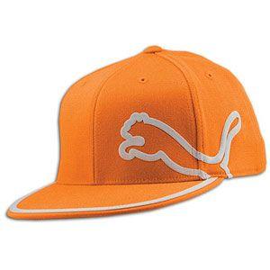 PUMA Monoline 210 Fitted Cap   Mens   Casual   Clothing   Orange
