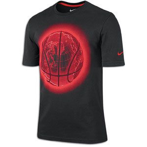 Light up the scoreboard in the Nike Glow Ball World T Shirt, a 100%