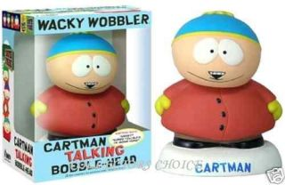 Funko Talking Wacky Wobbler South Park Cartman 8375