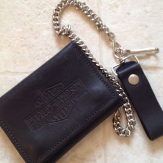 Harley Davidson Leather Wallet