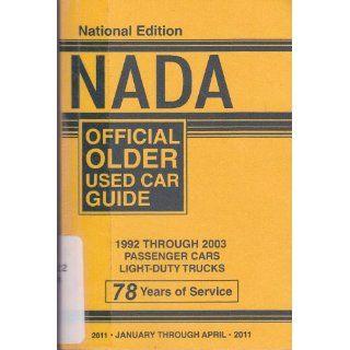 NADA Offical Older Used Car Guide   1992 through 2003 Passenger Cars