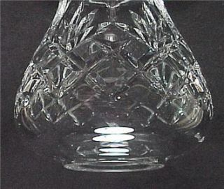 Waterford Crystal Hurricane Candle Lamp Light Shade Votive Lite Fairy