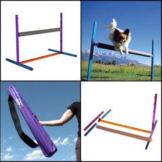 Dog Agility Aluminum Single Jump Hurdle