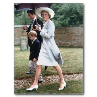 No.234 Princess Diana Althorp 1989 Post Card