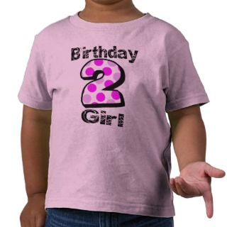 Add Your Childs Name 2nd Birthday Shirt