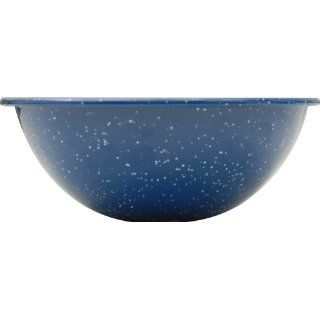 GSI Outdoors Blue Graniteware Mixing/Cereal Bowl, 6 Inch