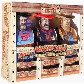 Whoop Ass Corral Gift Set   Contains Whoop Ass Jalapeno Steak Sauce