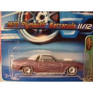 Scale Brown Plymouth Barracuda 11/12 Die Cast Car #131 Toys & Games