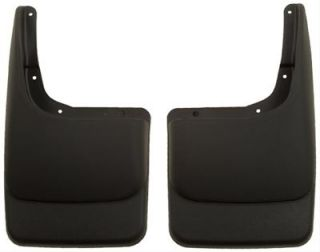 Husky Custom Molded Mud Flaps 57601 Thermoplastic Black Rear