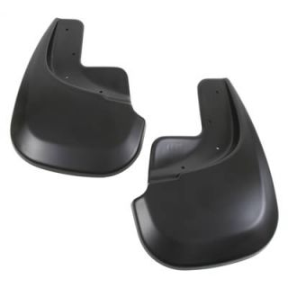 Husky Custom Molded Mud Flaps 57101 Thermoplastic Black Rear
