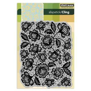 Penny Black 40 135 Floral Thread Cling Rubber Stamp Arts