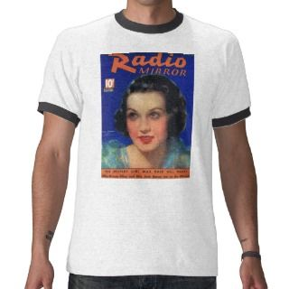 Ethel Merman RADIO MIRROR Magazine Cover 1935 Tees