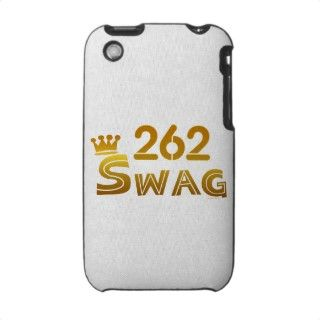 262 Wisconsin Swag iPhone 3 Case